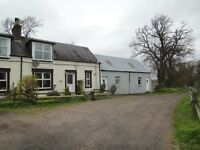 Rural Cottage with Craft Workshop, Gas CH (LPG), Full Double Glazing, SD, Garden with greenhouse