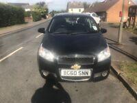 Chevrolet Aveo LS 1.2 litre petrol manual 5 door black
