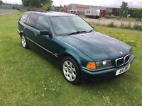 P REG BMW 3 SERIES 1.8 318i SE TOURING 5DR-12 MONTHS MOT-RARE E36-2 KEYS-LOOKS & DRIVES WELL