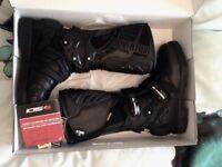 Sidi Adventure 2 Gore-Tex Motorcycle Boots Eur 41 / UK 7 Black RRP £312 NEW in Box