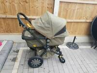 Bugaboo cam 3 cameleon camo diesel army footmuff limited edition