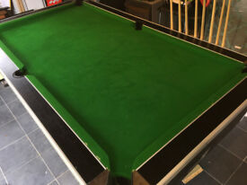 Pool Table - Slate bed, professional model, SUPERLEAGUE manufacture 7'x4'