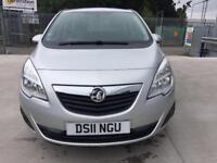 VAUXHALL MERIVA 2011, 1.4 T 16v EXCLUSIV, ONE PREVIOUS OWNER