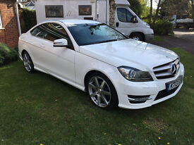 Mercedes Benz C250 CDI AMG Sport 7G 2.2ltr - Full Leather, Command, SAT NAV