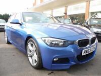 BMW 3 SERIES 2.0 325D M SPORT 4d 215 BHP FULL LEATHER & SAT NAV! (blue) 2013