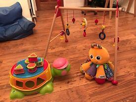 Baby toy bundle- heimess, Lamaze, fisher price