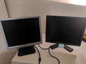 Selling two monitors a Dell a02 and a Acer AL1717