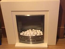 Nearly new fully working electric fire