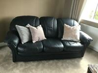 3 Seater sofa and matching chairs
