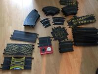 Scalextric vintage track for sale and cars for spares or repair