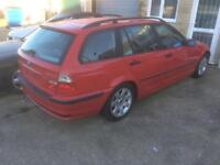 BMW 320d e46 3 series touring estate spares repairs drift project alloy wheels