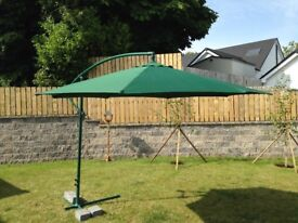Large 2.5m high parasol for sale