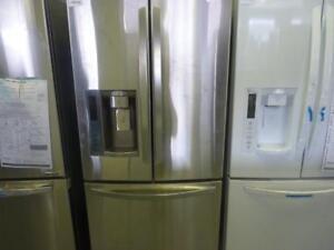 115-  NEUF- NEW  Réfrigérateur Frigo SAMSUNG Stainless Steel Fridge  NEUF - NEW