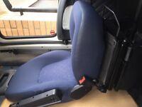 SPORTSCRAFT FIAT DUCATO (BOXER & JUMPER) 02-06 PASSENGER SEAT SWIVEL PLATE