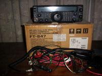 YAESU FT-487 HF/VHF/UHF TRANSCEIVER
