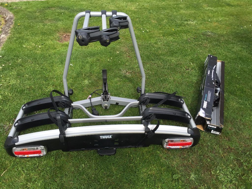 thule euroclassic g6 929 3 bike cycle carrier towbar. Black Bedroom Furniture Sets. Home Design Ideas