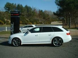AUDI A4 2.0 TDI 177 Quattro Black Edition (white) 2013