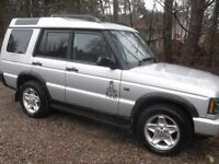 Land Rover Discovery auto 7 seater low miles 98k possible swap
