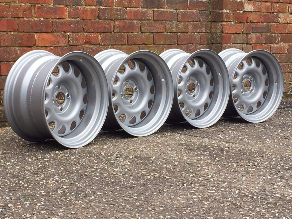 Banded Steel Wheels Genuine Vw Wheels 4x100 Staggered