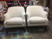 Pair of Parker Knoll Armchairs. Newly Reupholstered