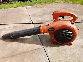 Hitachi petrol leaf blower
