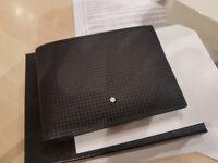 Brand new still in box mont blanc wallet