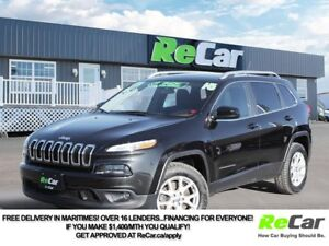 2015 Jeep Cherokee North 4X4   HEATED SEATS   BACK UP CAM