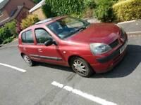 Renault Clio 1.2 petrol 5 door