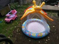 Baby pool and seat