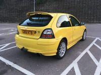 MG ZR+ TD 2.0 diesel car with mot