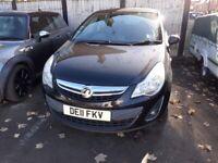 Vauxhall, CORSA, Hatchback, 2011, Manual, 1229 (cc), 5 doors,NEW MOT