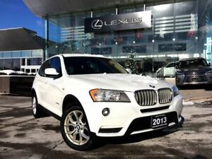 2013 BMW X3 28i Bluetooth Heated Seats Leather