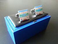 Sega OutRun cuff links / retro games