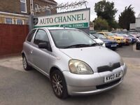 Toyota Yaris 1.0 VVT-i Colour Collection 3dr£995 p/x welcome FREE WARRANTY. NEW MOT