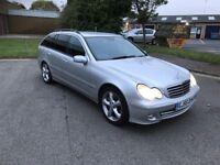 2005 Mercedes c180 automatic estate 12 months mot/3 months warranty