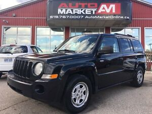 2010 Jeep Patriot Sport/North, LOW KM, WE APPROVE ALL CREDIT