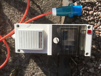 Camping Mobile Mains Electric Unit RCD Protected