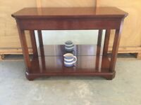 Finest Quality Cherry Console Table (Handmade Bespoke Piece made by REH Kennedy Ltd Ipswich).