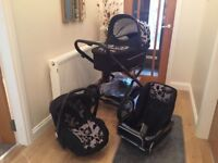 Baby Style - All in One Baby Pram/Push Chair/Car Seat