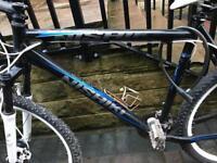 Bushwhacker mountain bike with hydraulic brakes