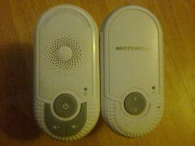 Pair Of Motorola Plug In Adaptors Baby Monitor