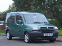 Fiat Doblo 1.9 D ELX 5dr,DIESEL,3 OWNERS,FULL SERVICE,NICE EXAMPLE,EXCELLENT CON