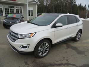 2016 Ford Edge Titanium AWD, NAVI, SELF PARK!