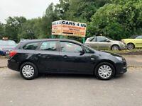 Vauxhall Astra Estate CDTI Ecoflex 1.7L Diesel! Only £20 Road Tax A Year!