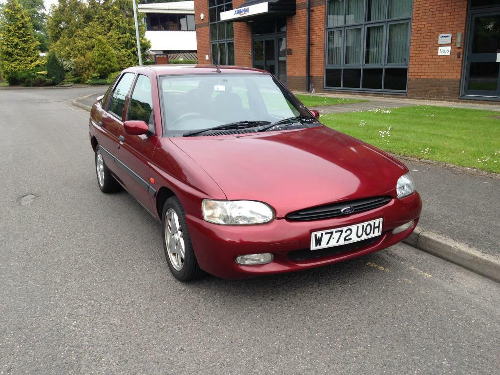 2000 ford escort finesse collectors item 1 6 manual petrol service history 12 months mot