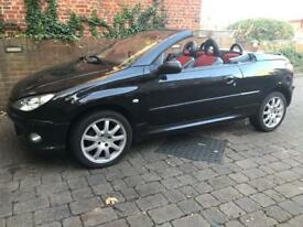 Peugeot 206 Allure Convertible 2004 £800 Ono