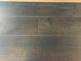 Ace Dark Walnut X5 Packs Laminate Flooring 12MM 1.30M2 Per Pack 6.5M2 Coverage