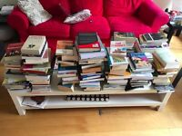 ~150 books to give away.