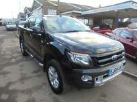 2014 64 ford ranger wildtrax 3.2 tdci automatic, NO VAT, just in awaiting valet, 30 + cars in stock.