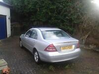 Mercedes Benz C220 CDI Elegance 74000 miles. Great condition 2 owners from new. Original 18k receipt